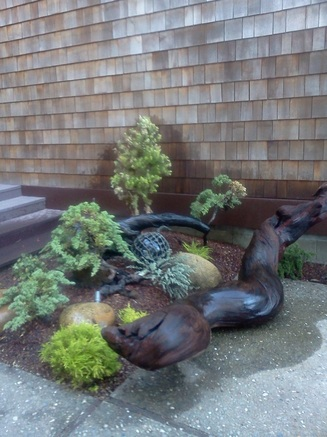 Small Gardens Earth Art Landscape Design